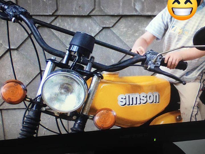 Simson in Ilmenau