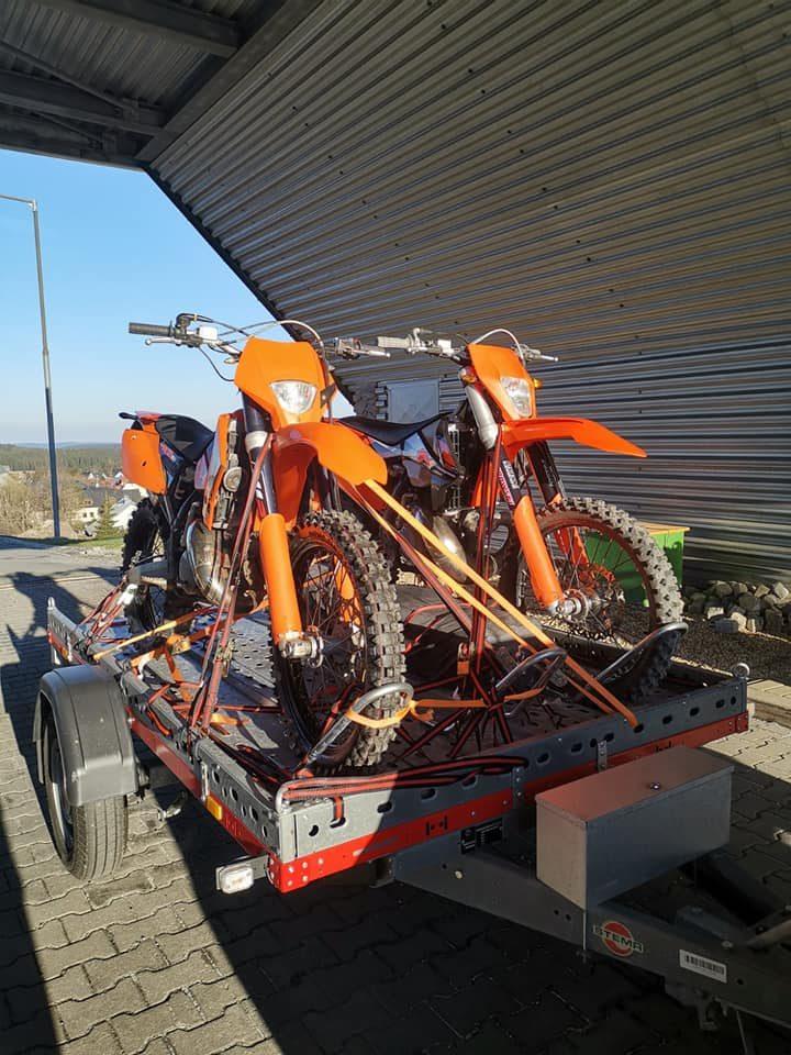 2 x KTM in Oberwiesenthal